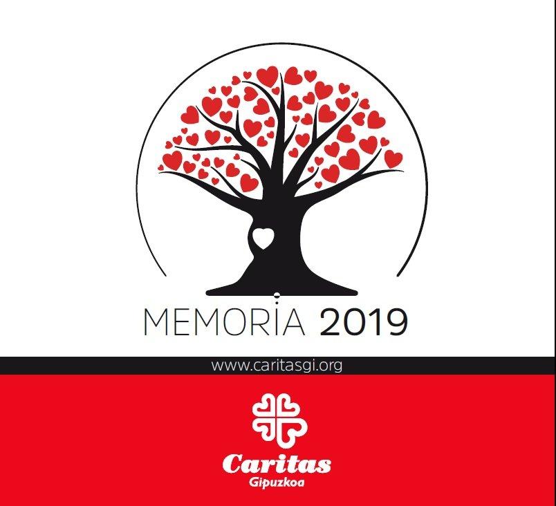 MEMORIA CARITAS GIPUZKOA
